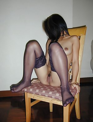 Stockings Asian Porn Pics
