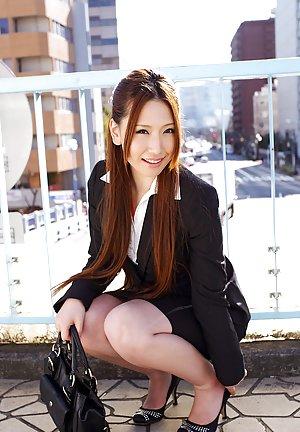 Asian Porn in Skirt Pics